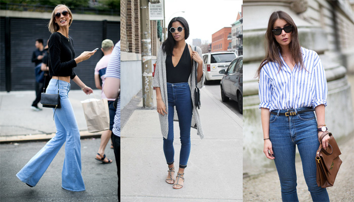 Blog SF - Streets with High waist Jeans