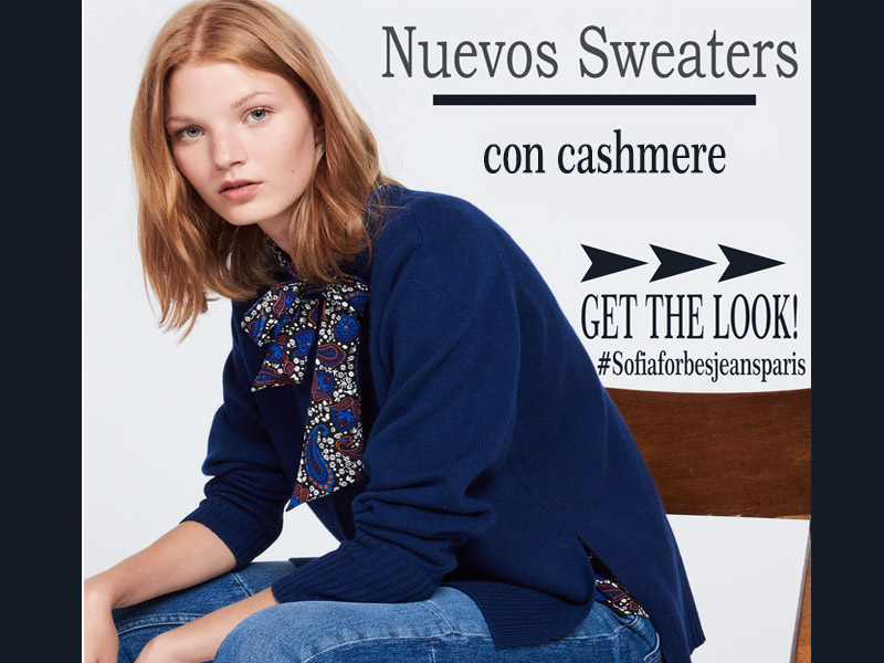 Como estilizar un sweater con cashmere? Get the Look!